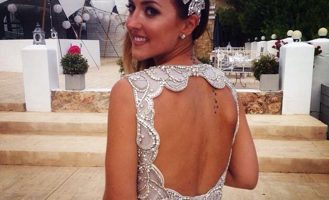 Glam ibiza Wedding Bride Nina